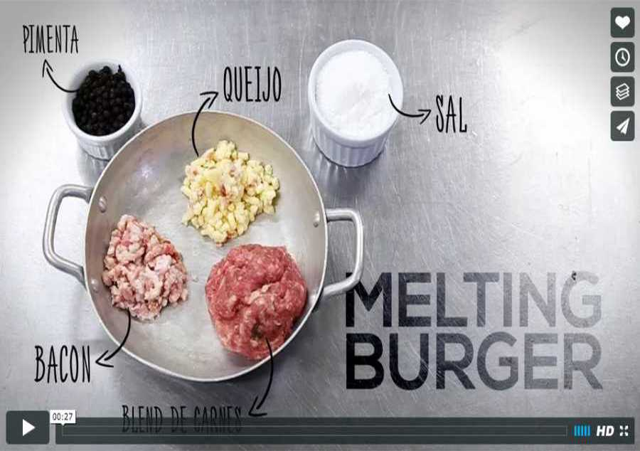 VÍDEO REDES SOCIAIS - HOMEMADE BURGER - MELTING BURGERS